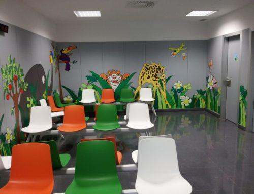 IMQ sala de espera pediatría
