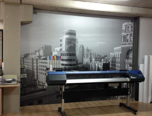 Papel pintado oficina