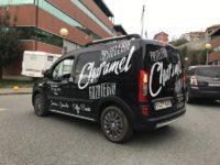 Rotulación de vehículos comerciales Charamel gozotegia 2 | AeroCad Rótulos y wrapping