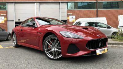 Trabajo de PPF Maserati Gran Turismo MC 2 | AeroCad Rotulos y Wrapping