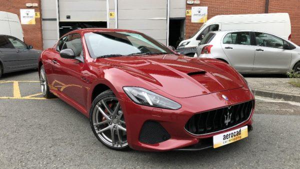 Trabajo de PPF Maserati Gran Turismo MC 1 | AeroCad Rotulos y Wrapping