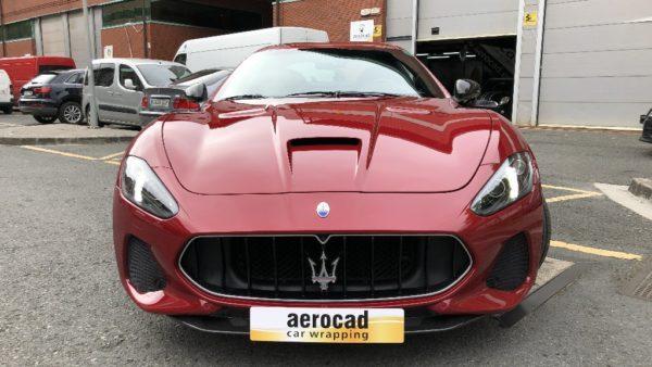 Trabajo de PPF Maserati Gran Turismo MC 4 | AeroCad Rotulos y Wrapping