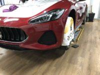 Trabajo de PPF Maserati Gran Turismo MC 5 | AeroCad Rotulos y Wrapping