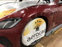 Trabajo de PPF Maserati Gran Turismo MC 18 | AeroCad Rotulos y Wrapping
