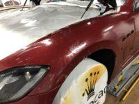 Trabajo de PPF Maserati Gran Turismo MC 14 | AeroCad Rotulos y Wrapping