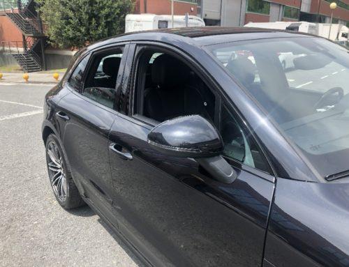 Porsche Macan – Cerquillos de ventanas negros #chromedelete