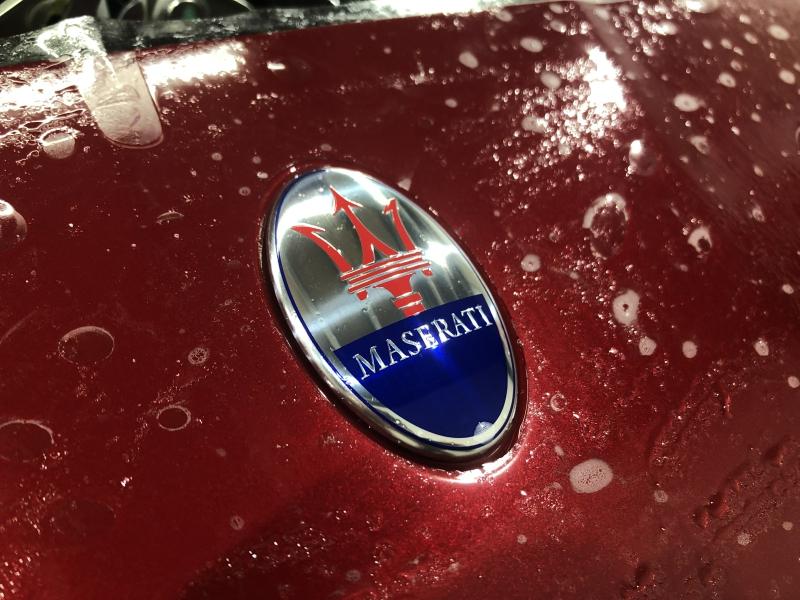 Trabajo de PPF Maserati Gran Cabrio PPF (2)
