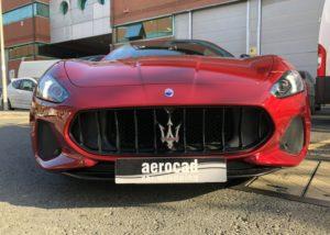 Trabajo de PPF Maserati Gran Cabrio PPF (4)