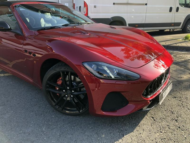 Trabajo de PPF Maserati Gran Cabrio PPF (5)
