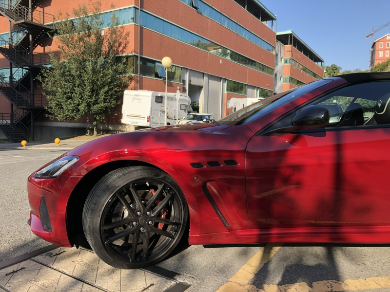 Trabajo de PPF Maserati Gran Cabrio PPF (6)