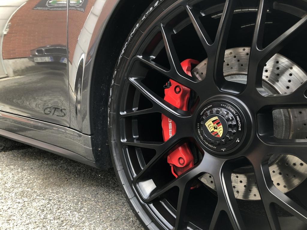 Trabajo de PPF Porsche 911 Carrera GTS (20)