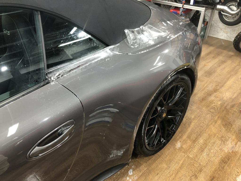 Trabajo de PPF Porsche 911 Carrera GTS (27)