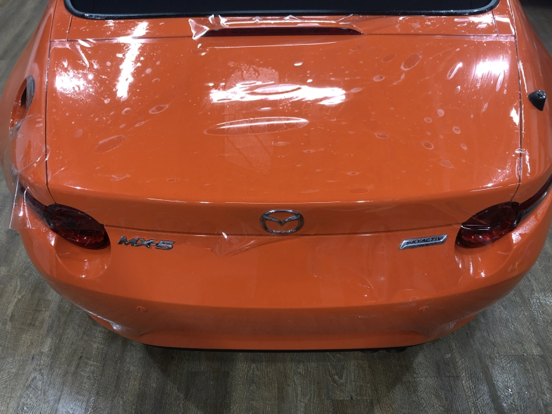 Trabajo de PPF Mazda MX5 PPF (12)