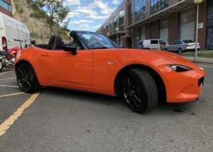 Trabajo de PPF Mazda MX5 PPF (17)