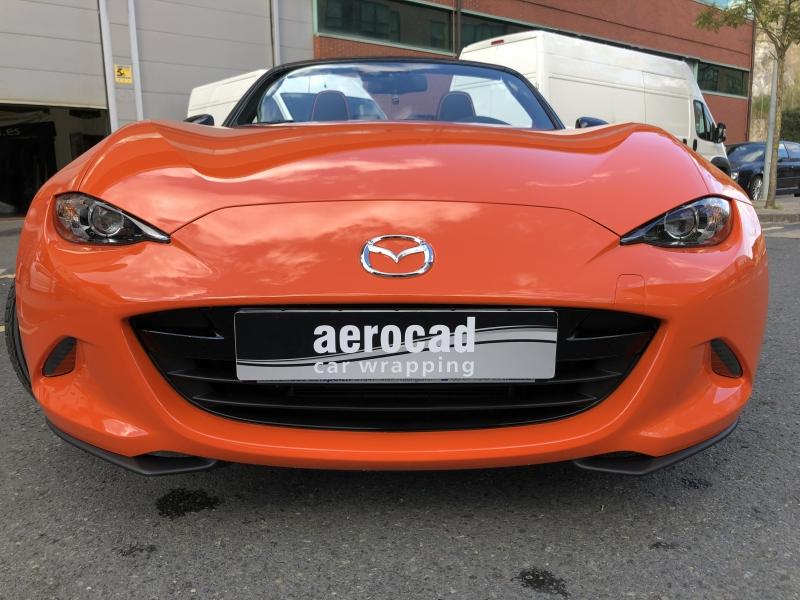 Trabajo de PPF Mazda MX5 PPF (26)