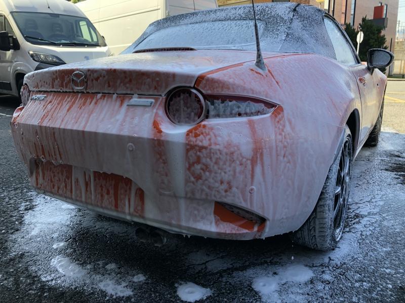 Trabajo de PPF Mazda MX5 PPF (4)