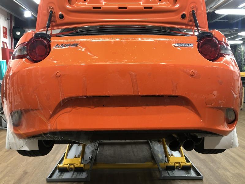 Trabajo de PPF Mazda MX5 PPF (7)